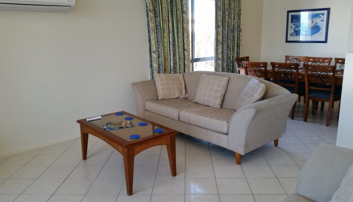 Beachcomber Port Elliot Encounter Holiday Rentals Lounge Area with comfortable sofas!