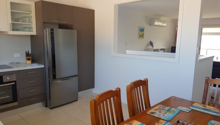 Meridian Port Elliot Encounter Holiday Rentals Kitchen to Lounge Room