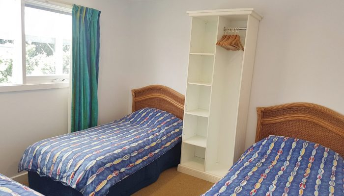Meridian Port Elliot Encounter Holiday Rentals Second Bedroom with 3 single beds